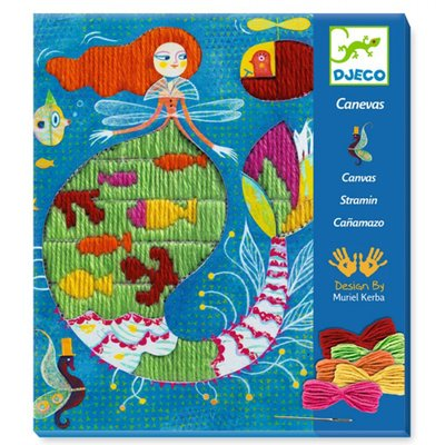 Djeco Straight stitches - Mermaid