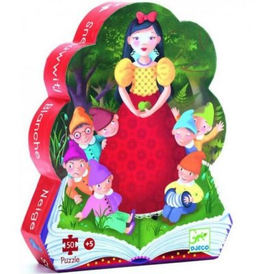Djeco Silhouette Puzzle - Snow White 50 pcs