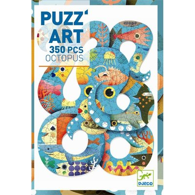 Djeco Puzz Art - Octopus 350 pcs