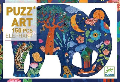 Djeco Puzz Art - Elephant 350 pcs