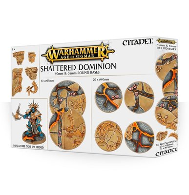 Age of Simar Shattered Dominion 40mm & 60mm Round Bases