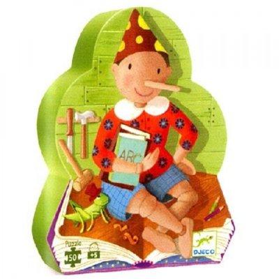 Djeco Silhouette Puzzle Pinoccio