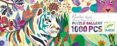 Djeco Gallery Puzzle- Rainbow Tigers