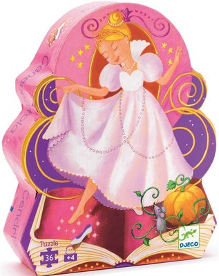 Djeco Silhouette Puzzle - Cinderella