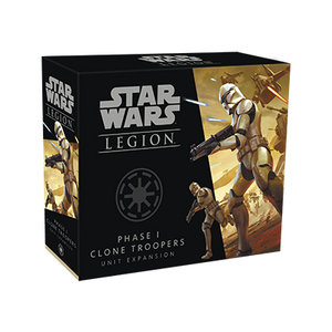 (Pre-order) Star Wars Legion: Phase 1 Clone Troopers