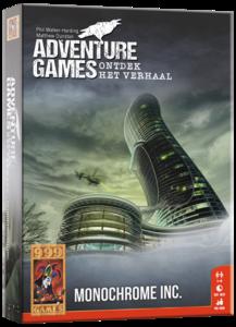 Adventure Games - Monochrome Inc. 999-Games