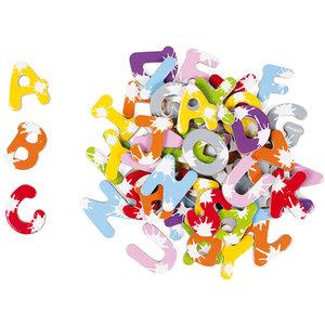 Janod Magneten - 52 magnetische letters splash