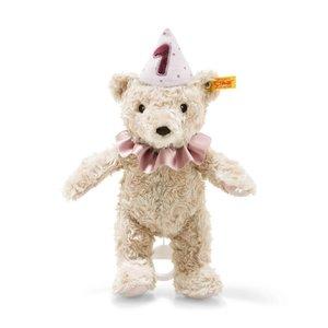 Steiff Eerste verjaardag Teddybeer meisje speelklok 240874