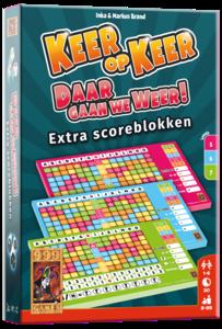 Keer op Keer Daar gaan we Weer Scoreblokken 999-Games