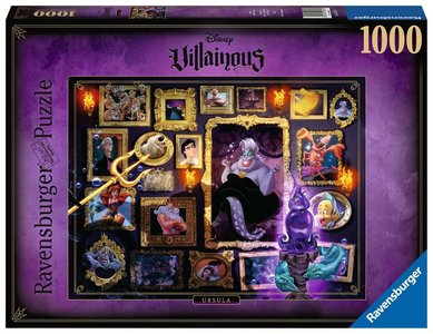Ravensburger Disney Villainous Puzzel: Ursula