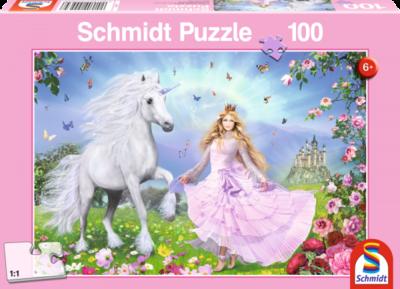 Schmidt Puzzel Prinses en de Eenhoorn