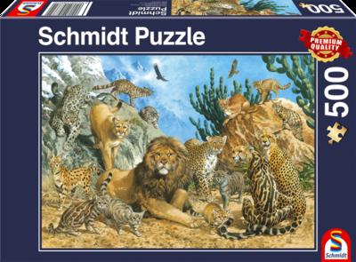 Schmidt Puzzel Grote Katten