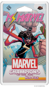 Marvel LCG Ms Marvel Hero