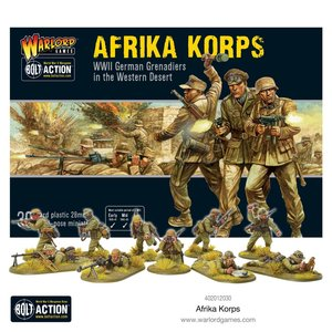 Bolt Action Afrika Korps  Starter army