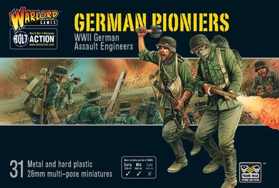Bolt Action German Pioniers