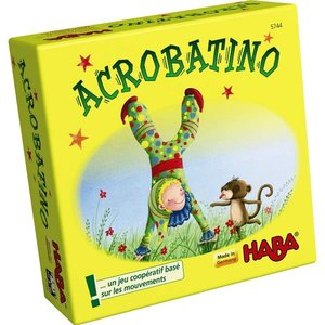Acrobatino  HABA  super minispel