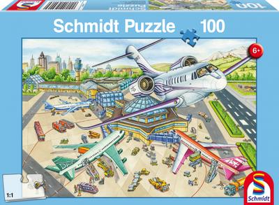 Schmidt Puzzel Een dag op de Luchthaven