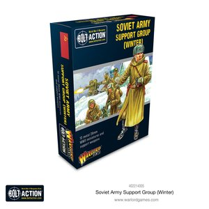 Bolt Action Soviet Army (winter) Support Group