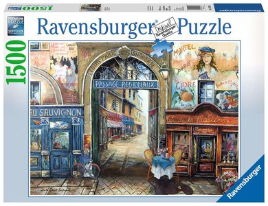 Ravensburger Puzzel Passage in Parijs