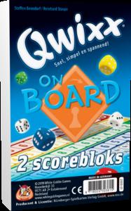 Qwixx On Board Extra Scoreblokken