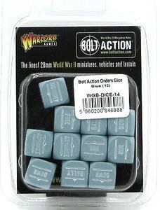 Warlord Games Bolt Action Orders Dice Blue