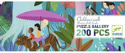 Djeco Gallery Puzzle Children's Walk