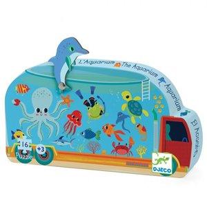 Djeco Silhouette Puzzel Aquarium