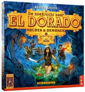 Pre-Order De Zoektocht naar El Dorado: Helden & Demonen 999-Games