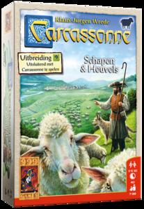 Carcassonne: Uitbreiding  9 Schapen en Heuvel 999-Games