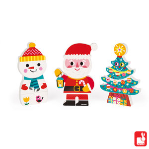 Janod Kerst Magneetpuzzels
