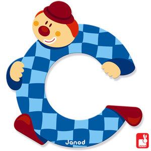 Janod Clown Letter C