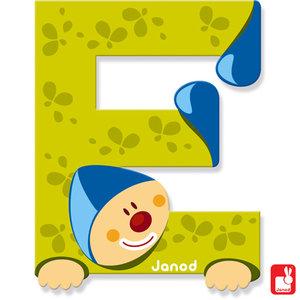 Janod Clown Letter E