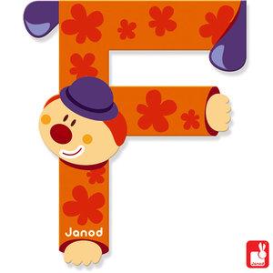 Janod Clown Letter F