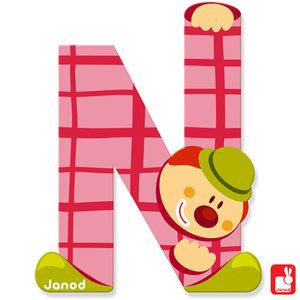 Janod Clown Letter N