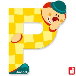 Janod Clown Letter P