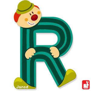 Janod Clown Letter R