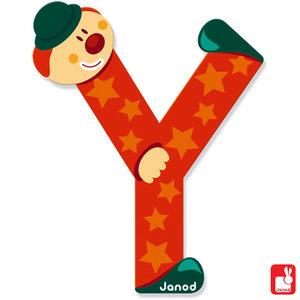 Janod Clown Letter Y