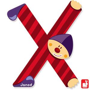 Janod Clown Letter X