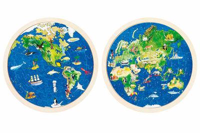 Goki Wereldbol puzzel