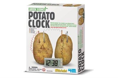 4M Aardappel klok