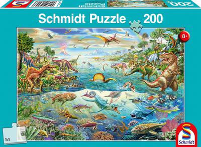 Schmidt Puzzel Ontdek de Dinosaurussen