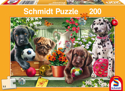 Schmidt Puzzel Speelse Puppies
