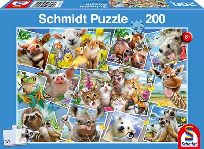 Schmidt Puzzel Dieren Selfies