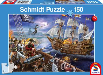Schmidt Puzzel Piraten Avontuur