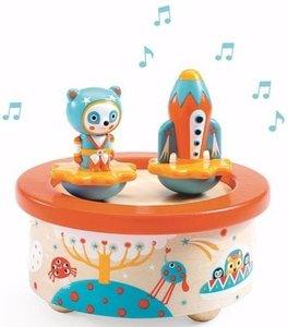 Djeco Muziekdoos Space Melody