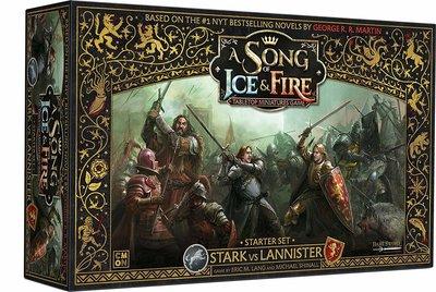 A Song of Ice & Fire Stark vs Lannister Starter Set