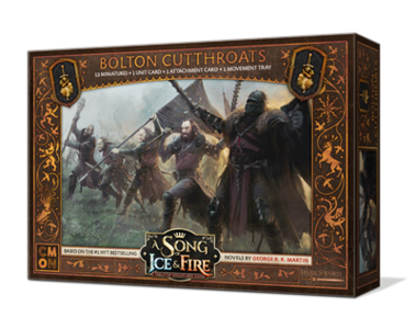 A Song of Ice & Fire Bolton Cutthroats
