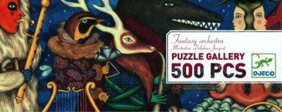 Djeco Gallery Puzzle- Fantasy Orchestra