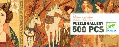 Djeco Gallery Puzzle- Unicorn Garden