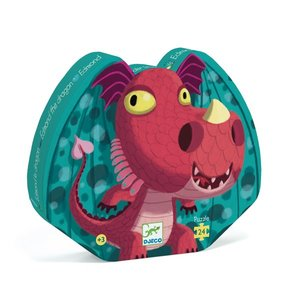 Djeco Silhouette Puzzle - Edmond the Dragon